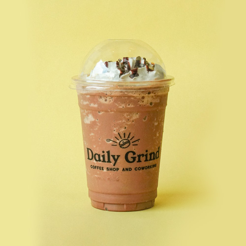 Chocoholics Frappe from Daily Grind Coffee Shop